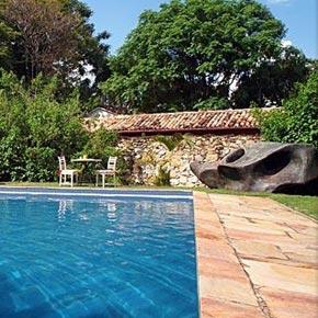 Relaxer vous au Solar Da Ponte, batisse du 18e dans le Minas Gerais.