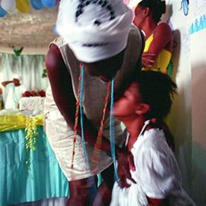 Les cérémonies de candomblé mêlent croyances africaines, rites indigènes et catholicisme.