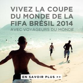 Voyageurs du Monde, agence officielle de votre séjour au Brésil pour la coupe du monde 2014