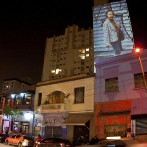 Parcours de la rue Augusta @ São Paulo