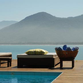 Après votre circuit, reposez-vous à la Pousada Pincinguaba au Brésil.