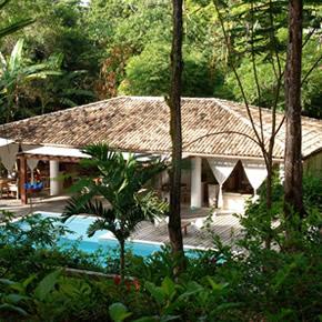 Des villas pour un séjour dans un jardin luxuriant à Transoso, au sud de Salvador.
