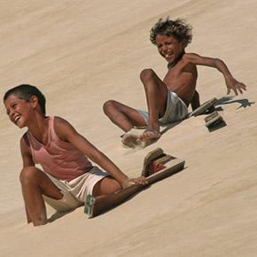 Les vacances au Brésil et plus particulièrement dans le Nordeste sont très adaptées aux enfants et aux plaisirs de la plage.